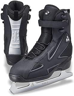 Softec Elite ST7002 Black Mens Ice Skates with Mark II Blades