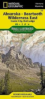 beartooth mountains map