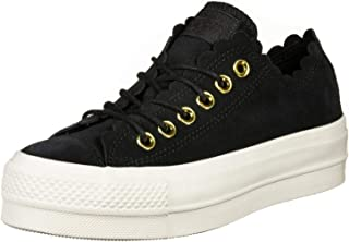 All Star Lift Ox Womens Sneakers Black