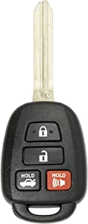Keyless2Go New Keyless Entry Remote Car Key for Vehicles That Use HYQ12BDM with G Chip