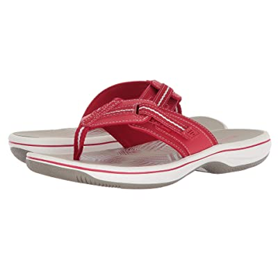 Clarks Brinkley Jazz (Red Synthetic) Women