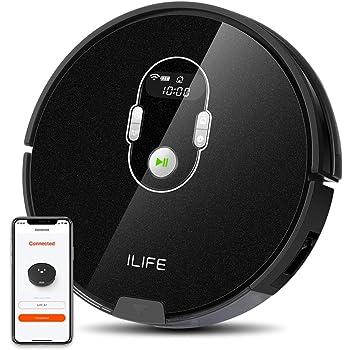【Amazon.co.jp 限定】ILIFE A7 ロボット掃除機 計画式な清掃システム WiFi 対応 アプリ制御 多様な予約功能 硬質床と薄いカーペットを強力清掃 A7
