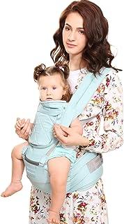 comprar comparacion Windsleeping Porta bebés 6 en 1 con sillita ergonómica para todas las estaciones, 48