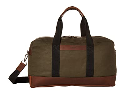 Shinola Detroit Mack Duffel Waxed Canvas/Navigator GM (Moss) Handbags