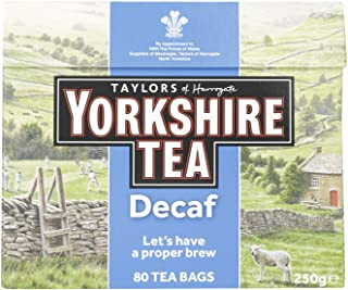 Taylor's of Harrogate Yorkshire, Decaf 80 bags - 1 unit
