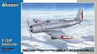 スペシャルホビー 1/48 フランス海軍 V-156Fヴィンディケイター 急降下爆撃機 プラモデル SH48213