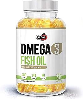 Omega 3 Fish Oil 1200mg Capsules 480 EPA 240 DHA High Strength Concentration Premium Quality Essential Fatt...