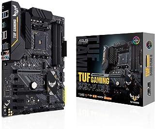 ASUS Tuf Gaming B450-Plus II AMD B450 Am4 DDR4 4400 DP Hdmı Çift M2 Usb3.2 Aura Rgb ATX 128GB'a kadar ram desteği, AI Ses ...