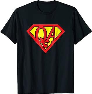 QA Tester Super Hero, Software Engineer Gift Tee Shirt