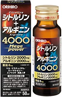 オリヒロ シトルリン+アルギニン Mega Power 4000 50ml×10個セット