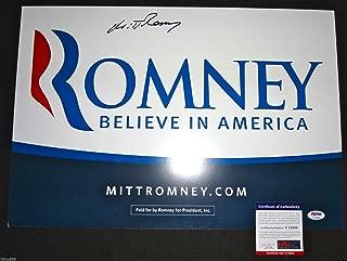 mitt romney campaign sign