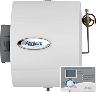 Aprilaire 600 Whole Home Humidifier, Automatic High Output Furnace Humidifier, Large Capacity Whole House Humidifier for Homes up to 4,000 Sq. Ft.