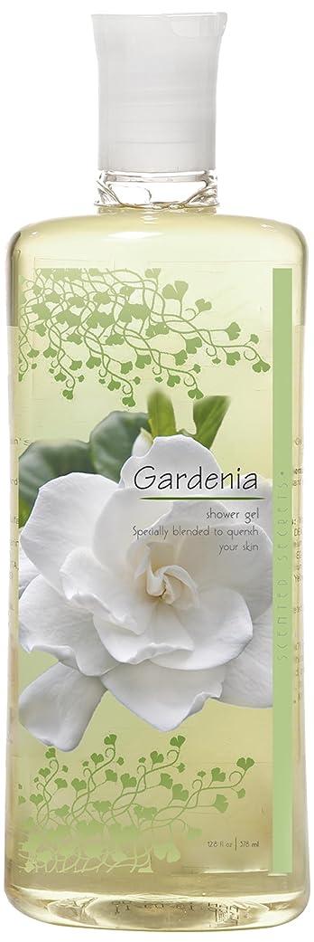 後悔登録一方、Scented Secrets Shower Gel, Gardenia, 12.8 Ounce by Scented Secrets