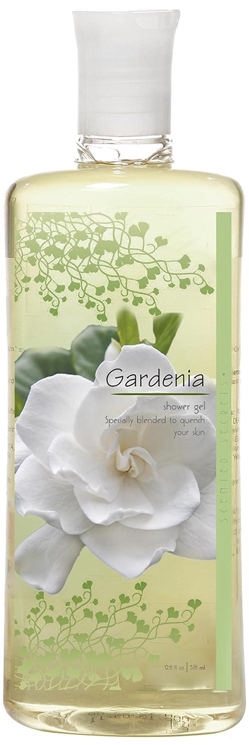 量でアーティスト性格Scented Secrets Shower Gel, Gardenia, 12.8 Ounce by Scented Secrets