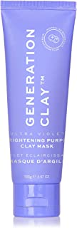 Generation Clay Australian Purple Clay Mask – Ultra Violet Brightening Clay Face Mask Stimulates Collagen & Rejuvenates Sk...