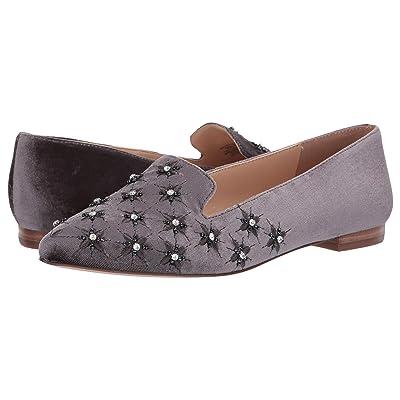 SOLE / SOCIETY Letticah (Silver Ash Portugal Velvet) Women