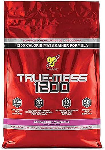 BSN True Mass 1200 - Strawberry Milkshake