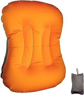 Happier 旅行 携帯 枕 アウトドア キャンプ 登山 車内 車中泊 オフィス 便利 コンパクト軽量 トラベルピロー