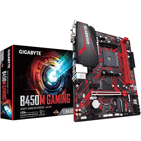 Socket AM4//B450//DDR4//S-ATA 600//Micro ATX AMD YD2600BBAFBOX Ryzen 5 2600 Processor with Wraith Stealth Cooler /& Gigabyte B450M DS3H