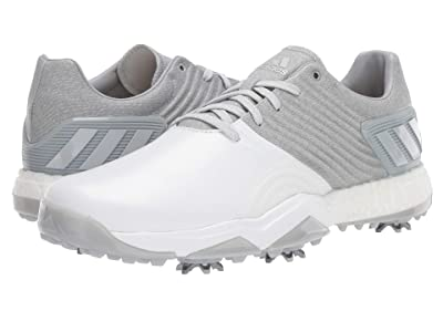 adidas Golf adiPower 4orged Wide (Clear Onix/Matte Silver/White) Men