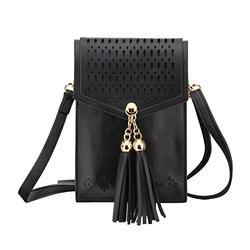 MoKo Cell Phone Bag, Crossbody Wallet Pouch Women Folk Style Case with  Shoulder Strap, 741a9f039c