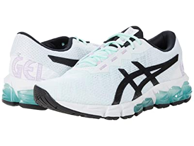ASICS Kids GEL-Quantum 180 5 (Big Kid) (White/Black) Girls Shoes