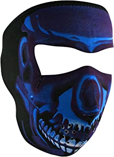 Best blue chrome facemask Reviews