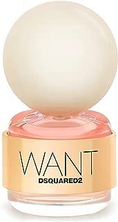 Dsquared2 Want by Dsquared2 for Women - Eau de Parfum, 50ml