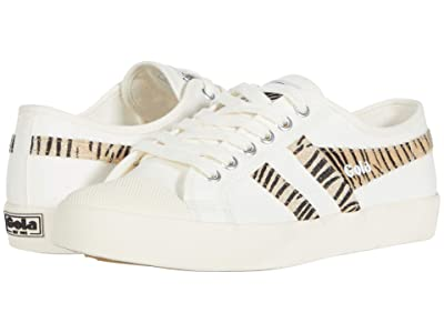 Gola Coaster Safari (Off-White/Zebra) Women