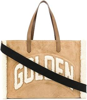 Golden Goose Luxury Fashion Damen GWA00120A00012955302 Beige Leder Tote | Herbst Winter 20