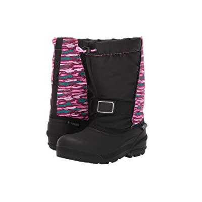Tundra Boots Kids Boulder (Toddler/Youth) (Pink Multi) Girls Shoes