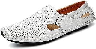 Mocassins Chaussures de Bateau Chaussures de Conduite Cuir Loafers Homme Flats