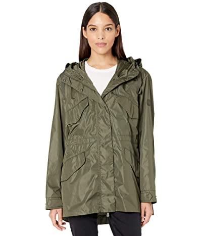Save the Duck Phoebe MEGA Water Repellant Hooded Utility Jacket (Dusty Olive) Women