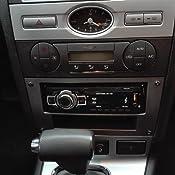 Carmedio Ford Mondeo 03 07 1 Din Autoradio Einbauset In Original Plug Play Qualität Mit Antennenadapter Radioanschlusskabel Zubehör Und Radioblende Einbaurahmen Dunkelgrau Navigation