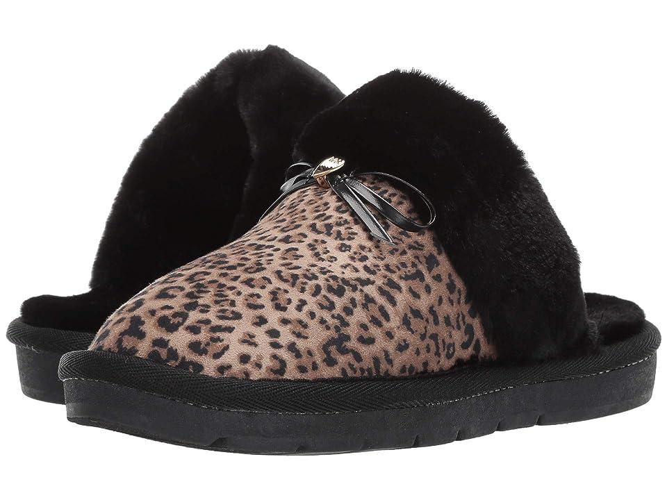 MICHAEL Michael Kors Kids Margot Comfy (Little Kid/Big Kid) (Black/Leopard) Girls Shoes