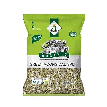 24 Mantra Organic –Green Moong Dal Split, 500g
