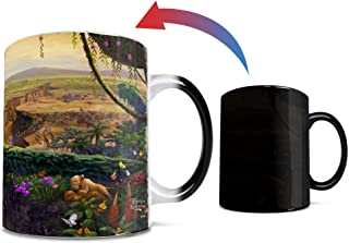 Disney - The Lion King - Return to Pride Rock - Thomas Kinkade - One 11 oz Morphing Mugs Color Changing Heat Sensitive Cer...