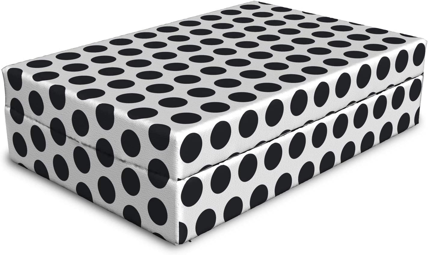 Ambesonne Abstract Pet Bed Geometric Rapid rise Dots Price reduction Polka Large Circular