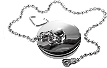 Chrome Sink Plug with Chain for Hand Washing Basin 1 1/2 Inch