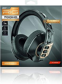 Nacon Rig 700HD, kabelloses Gaming Headset für PC, schwarz