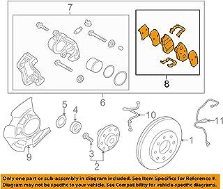 Rear Genuine Hyundai 58311-0WA00 Brake Caliper Kit Right