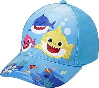 Nickelodeon Toddler Boys' Baseball Cap Baby Shark Curved Brim Snap-Back Hat