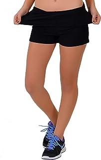 Stretch is Comfort Women's Teamwear Foldover Yoga Shorts