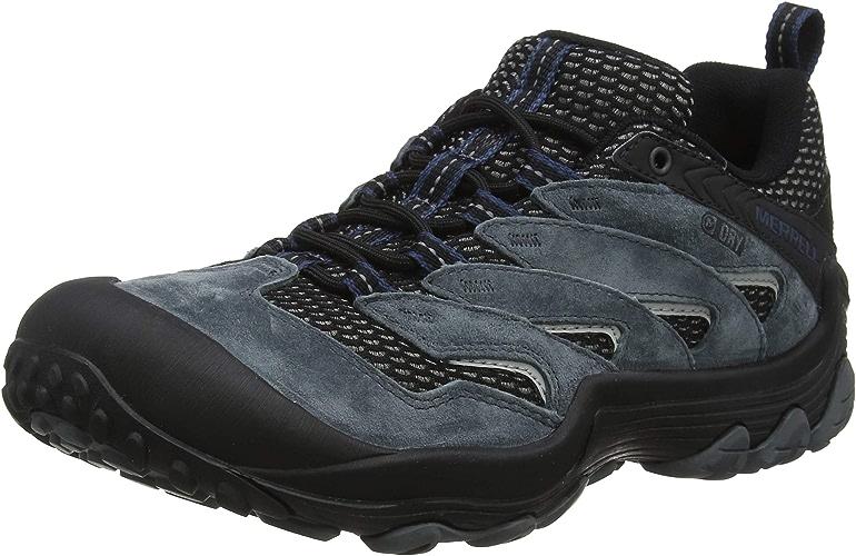 Merrell Cham 7 Limit imperméable, Chaussures de Randonnée Basses Homme
