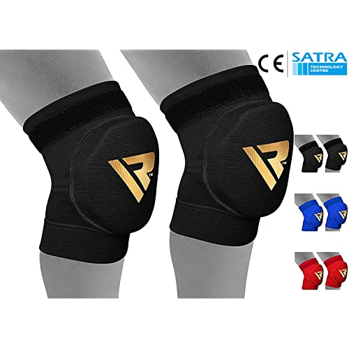 f0ae55aab6 RDX Knee Support Brace Protector Foam Pads Guard Wraps Elasticated Shield