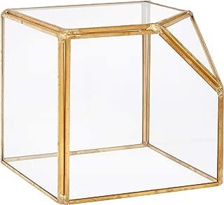 Best gold and glass terrarium Reviews