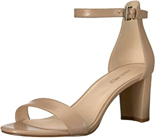 NINE WEST Women's Pruce Suede Heeled Sandal