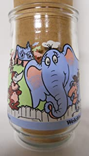 Welch's Dr. Seuss Jelly Jar Glass #2 Horton and Friends
