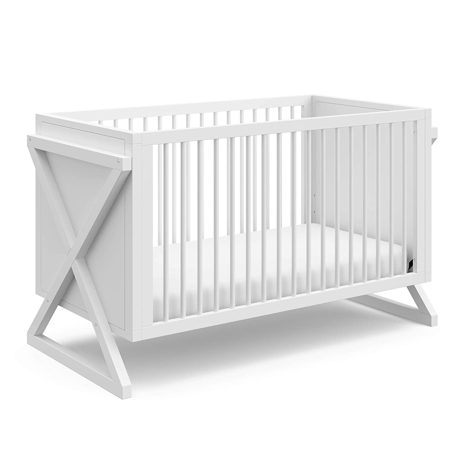 Stork Craft Equinox Jacksonville Manufacturer direct delivery Mall 3-in-1 Convertible Crib – Converts Easily to