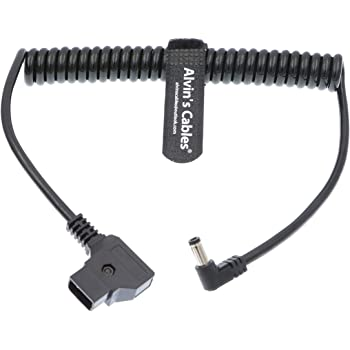 Alvins Cables Anton Bauer Power Tap D Tap to 2.1 DC 12v Cable for KiPRO LCD Monitors